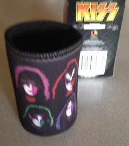 Kiss-SOLO-lp-faces-Stubby-Holder-Cooler-Can-Hard-To-Find-Limited-Stock