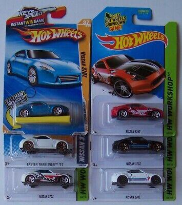 2010 2011 2014 2015 Hot Wheels Nissan 370Z Choice Lot