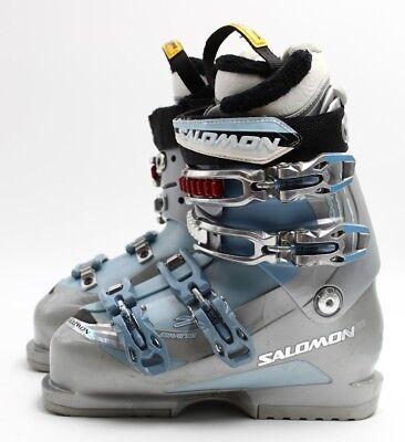 0a7cc0cd5cff Salomon Divine 7 Women s Ski Boots - Size 6.5   Mondo 23.5 Used