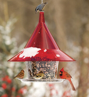 Arundale Red Sky Cafe Squirrel Proof Bird Feeder AR360R Arundale Sky Cafe Feeder