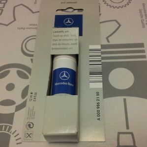 Genuine mercedes benz 9147 arctic white touch up paint for Mercedes benz white paint