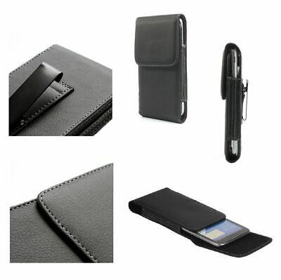 para Asus ZenFone AR Dual Funda Cinturon Clip Metal Vertical Piel Sintetica...