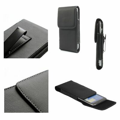 for Gome C7 (2019) Case Metal Belt Clip Synthetic Leather Vertical Premium