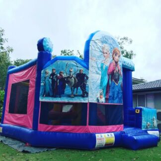 Frozen Jumping Castle for hire!