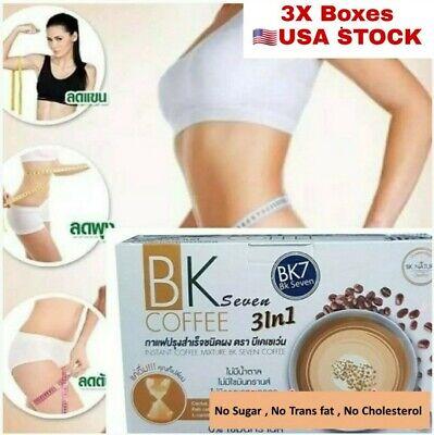 BK7 Fast Weight Loss Coffee Diet Idol Slimming Coffee Drink Lost Burn Fat X3