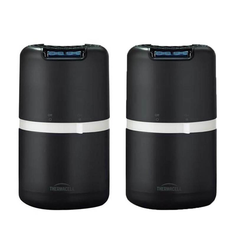 Thermacell Halo Outdoor Patio Shield Zone Insect Mosquito Repeller, 2 Pack