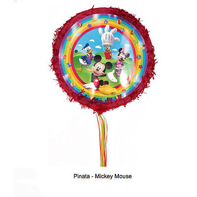 Disney Mickey Mouse Clubhouse Pinata Boys Birthday Party Game Decoration Pinyata - Mickey Mouse Birthday Games