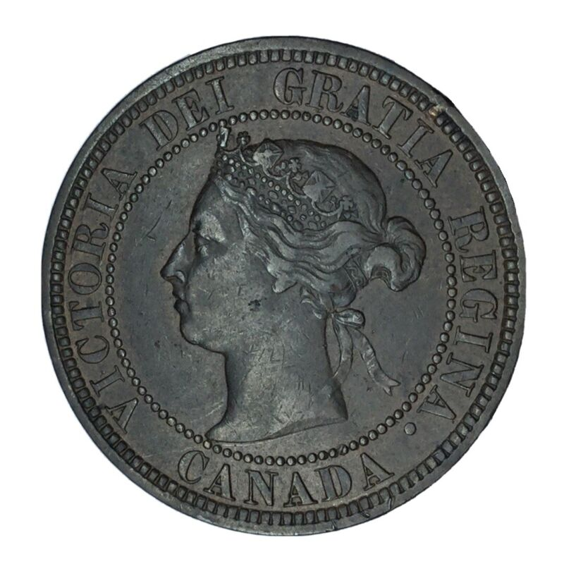1882 H Canada 1 Cent XF #