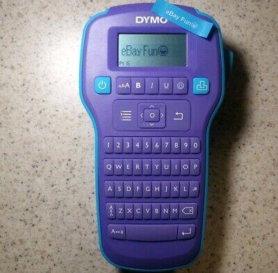 Dymo Printer Label Maker Color Pop Custom Message Emojis Symbol Colorpop Purple