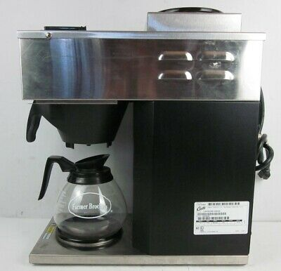 Curtis Pourover Commercial Coffee Brewer Maker With 2 Warmers Cafe2db10a000