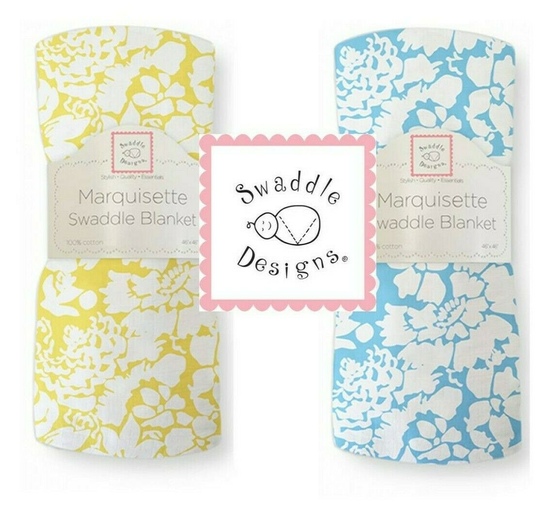 SwaddleDesigns LUSH Marquisette Swaddle Blanket softer than