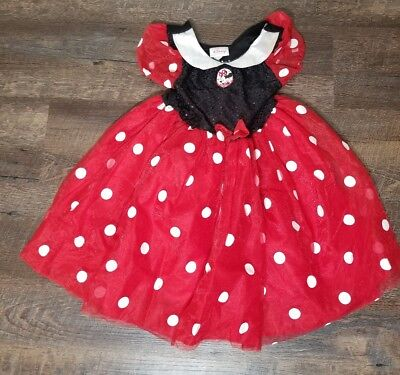 Disney Store size for 5 extra small Minnie Mouse Halloween costume dress