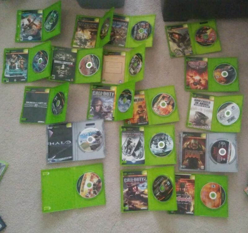 Xbox game lot of 18 games