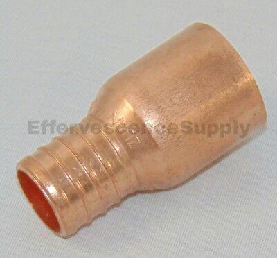10 Pcs 1 Pex X 1 Copper Fitting Adapter - Male Sweat Adapter