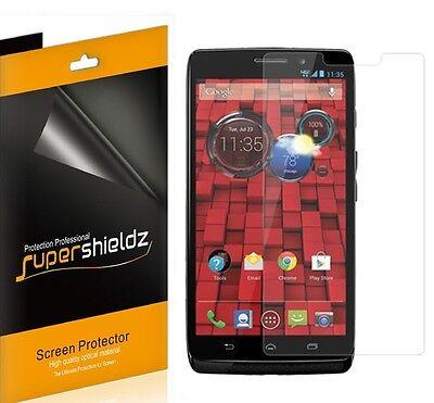 6X Supershieldz Anti Lower Matte Screen Protector Guard For Motorola Droid Maxx