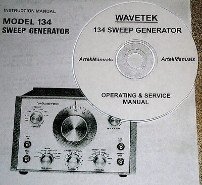 Wavetek 134 Sweep Generator Operatingservice Manual Wschematics