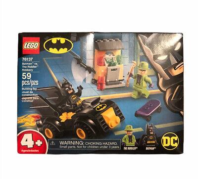 LEGO Batman 76137 DC Batman vs.The Riddler Robbery Set NEW