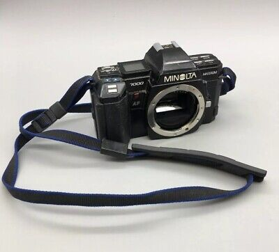Minolta Maxxum 7000 35mm AF SLR Film Camera Body Only - Fast Free Ship - H14 for sale  Shipping to Canada