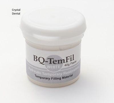 Dental Bq-temfil Hydraulic Temporary Restorative Filling Material White 40g