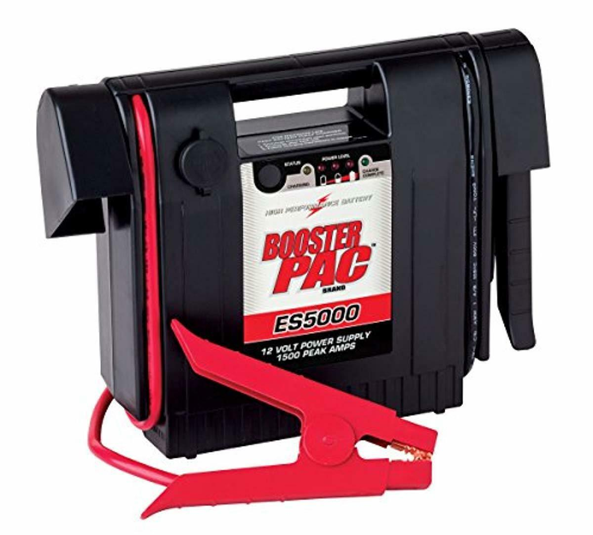 Booster Pac ES5000, 12V Booster Pack 1500 Amp Peak with Free shipping