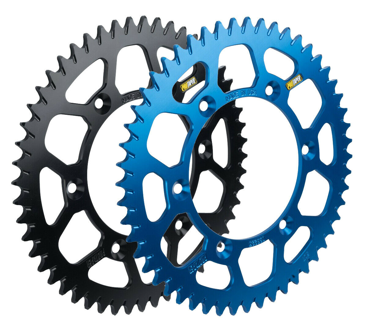 Pro Taper Race Spec black rear sprocket for Suzuki DRZ400 RM250-47 to 52 Tooth