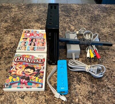 Nintendo Wii Console with 35 games (Read)