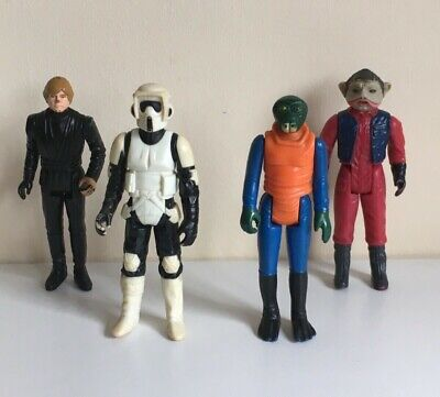 Vintage Star Wars Figures Job Lot Bundle