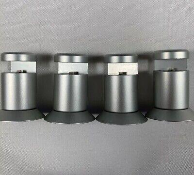 Aluminum Display Sign Standoffs Edge Grip - Sign Mounting Hardware 0.75 X 1.5