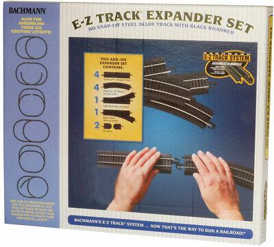 Bachmann HO E Z Track Steel Alloy Train Expander Set NIB 44494