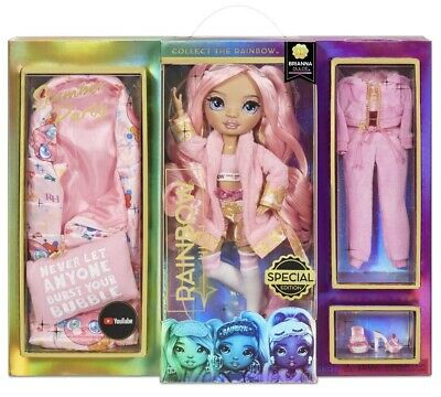 Rainbow High Slumber Party BRIANA DULCE Fashion Doll With 2 Outfits-PREORDER