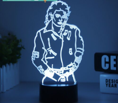 Michael Jackson with upgraded light
