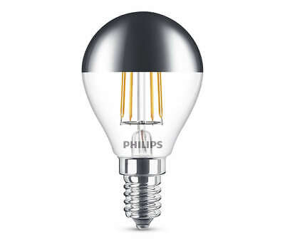 7 Leuchtmittel LED Tropfen 4W E14 230V Kopfspiegel 2700K  (Kopf Spiegel)