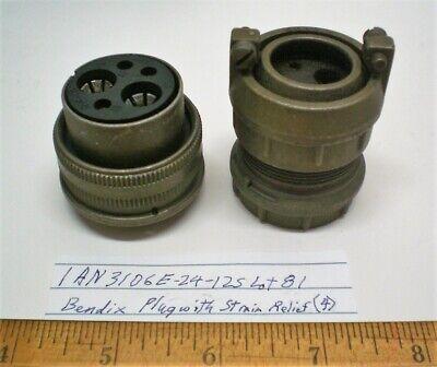 J MS27473E16C35S 55-Position MIL-SPEC Circular Connector Plug by BENDIX