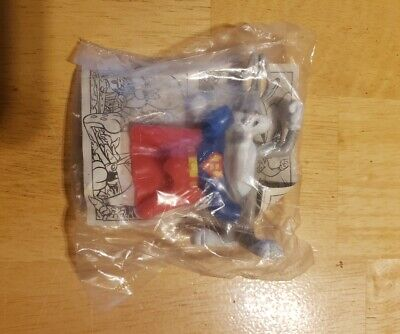 Rare Bugs Bunny Super Bugs Figure W/ Costume 1991 McDonald's Happy Meal Toy](Super Bunny Costume)