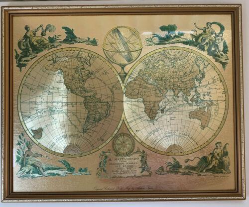zatta 1774 framed map
