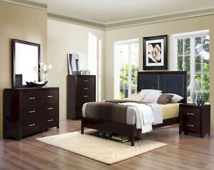 BEDROOM SET 8 PCS SOLID WOOD BRRRANNNDD NEWWW