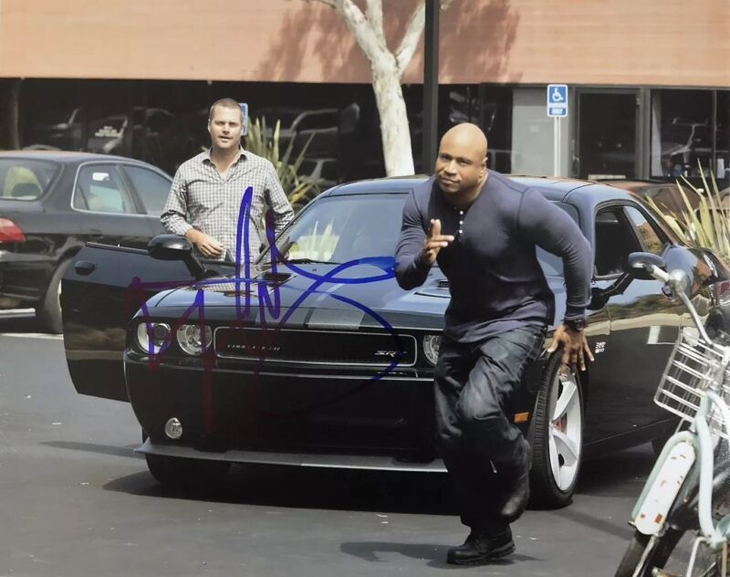LL COOL J HAND SIGNED 8x10 PHOTO AUTOGRAPHED RARE AUTHENTIC NCIS ACTOR