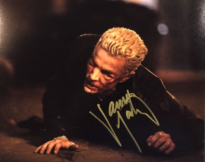 JAMES MARSTERS SIGNED 8x10 PHOTO ACTOR AUTOGRAPHED BUFFY THE VAMPIRE SLAYER RARE
