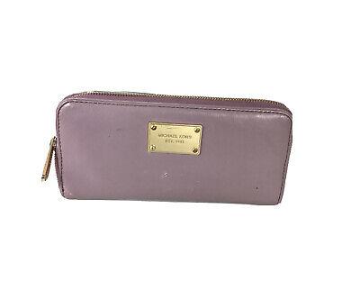 MICHAEL KORS Wallet Zip Around Leather