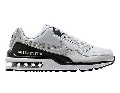 Nike Air Max LTD 3 Mens 687977-103 White Grey Black Running Shoes Size 7.5