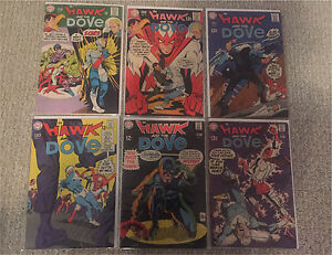 1960s DC Comics Hawk and the Dove 1-6
