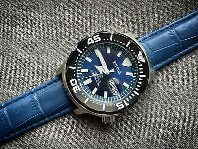Seiko Prospex Monster Divers 200m Blue Dial Automatic Watch, Japan Made