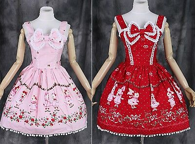 M-04 Gr S M L One Size Bunny Hase JSK Lolita Cosplay Kleid dress Kostüm -