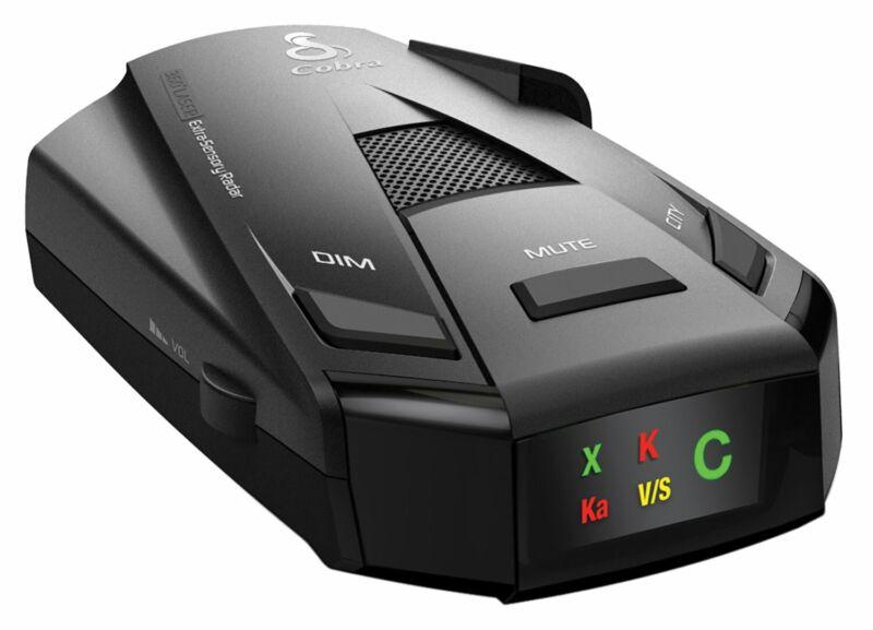 COBRA ESR-755 12 Band Radar Laser Police Detector Car Protection
