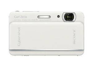 SONY CYBER-SHOT DSC-TX66 18.2 MP DIGITAL CAMERA w/ 5x OPTIMAL ZOOM