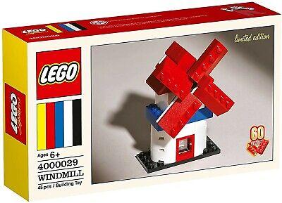 LEGO 4000029 WINDMILL Classic Set 60th Anniversary LIMITED EDITION- NEW Present