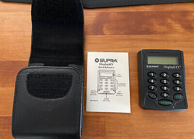 Supra Key Display Key For Real Estate Electronic Lock Box With Case