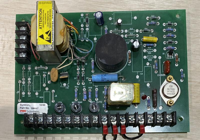 USED FMC SYNTRON CONTRO BOARD 156447
