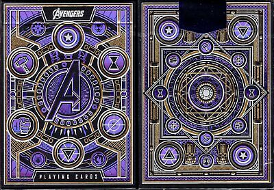Avengers Playing Cards Poker Size Deck USPCC theory11 Custom Limited New Sealed