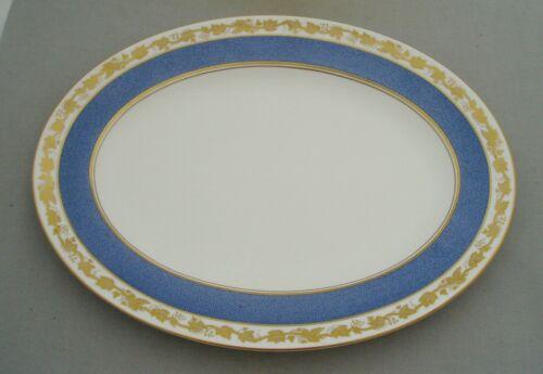 WEDGWOOD WHITEHALL POWDER BLUE LARGE OVAL SERVING PLATE PLATTER